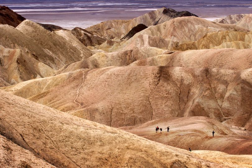 Zabriski Point, Death Valley, CA
